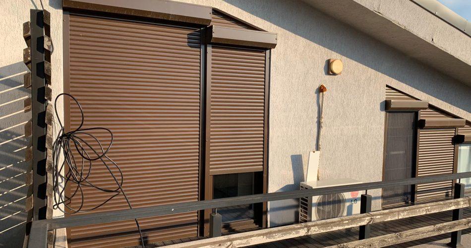 Rulouri exterioare montate in Bucuresti la casa